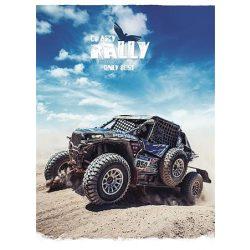 """Füzet, tűzött, vonalas, A5, 36 lap, SHKOLYARYK """"Crazy rally"""", vegyes"""