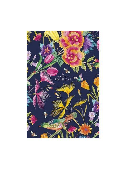 """Jegyzetfüzet, ragasztott, vonalas, A5, 80 lap, keményfedeles, SHKOLYARYK """"Personal Journal"""", vegyes"""
