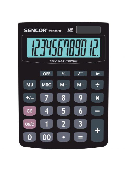 SENCOR SEC 340/12 asztali számológép