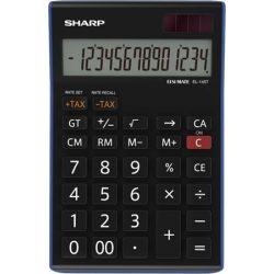"""Számológép, asztali, 14 számjegy, SHARP """"EL-145TBL"""""""