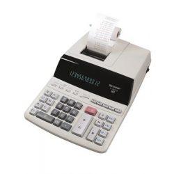 """Számológép, szalagos, 12 számjegy, 2 színű nyomtató, SHARP """"EL-2607PGGYSE"""""""