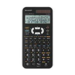 """Számológép, tudományos, 469 funkció, SHARP """"EL-506X"""", fehér"""