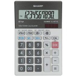 """Számológép, asztali, 10 számjegy, SHARP """"EL-M711G"""""""