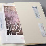 """Jegyzetfüzet, exkluzív, A4, kockás, 194 oldal, puhafedeles, SIGEL """"Conceptum"""", világosszürke"""