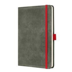 """Jegyzetfüzet, exkluzív, A5, vonalas, 194 oldal, SIGEL """"Conceptum Vintage"""", szürke"""