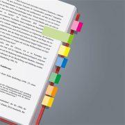 """Jelölőcímke, papír, 10x50 lap, 15x50 mm, SIGEL """"Multicolor"""", vegyes szín, 500 lap"""