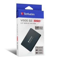 """SSD (belső memória), 240GB, SATA 3, VERBATIM """"Vi500"""""""