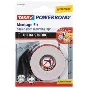 """Ragasztószalag, kétoldalas, ultra erős, 19 mm x 1,5 m, TESA """"Powerbond"""""""