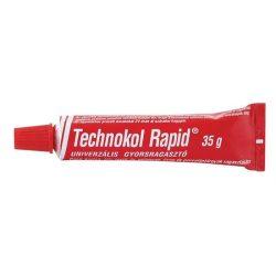 """Ragasztó, folyékony, 35 g, TECHNOKOL """"Rapid"""", piros (TEC01)"""