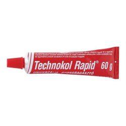 """Ragasztó, folyékony, 60 g, TECHNOKOL """"Rapid"""", piros (TEC02)"""