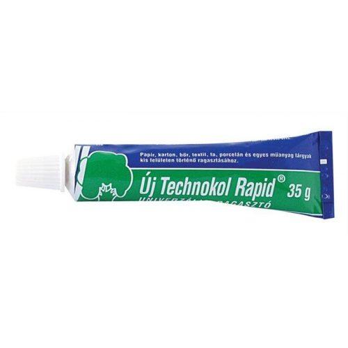 """Ragasztó, folyékony, 35 g, TECHNOKOL """"Rapid"""", zöld (TEC03)"""