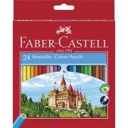 """Színes ceruza készlet, hatszögletű, FABER-CASTELL """"Classic"""", 24 különböző szín"""