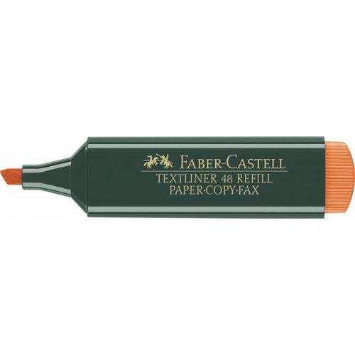 """Szövegkiemelő, 1-5 mm, FABER-CASTELL, """"Textliner 48"""", narancs"""