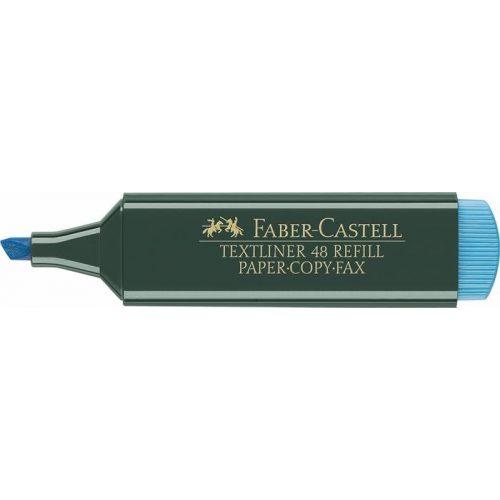 "Szövegkiemelő, 1-5 mm, FABER-CASTELL, ""Textliner 48"", kék"