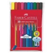 """Rostirón készlet, háromszögletű, FABER-CASTELL """"Grip"""", 10 különböző szín"""