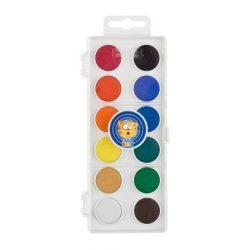 "Vízfesték, 12 darabos, 22,5 mm, ICO ""Creative Kids"""