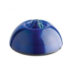 """Gemkapocstartó, mágneses, ICO """"Lux"""", áttetsző kék (TICGTLUXK)"""