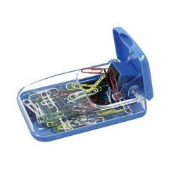 """Gemkapocstartó, mágneses, ICO """"988"""", átlátszó-kék (TICGTM988)"""