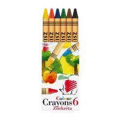 """Zsírkréta, ICO """"Süni"""", 6 különböző szín"""