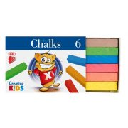 """Táblakréta, ICO """"Creative Kids"""", 6 különböző szín"""