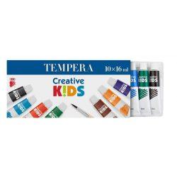 "Tempera készlet, 10 darabos, ICO ""Creative Kids"""