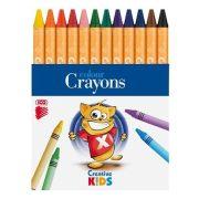 """Zsírkréta, ICO """"Creative Kids"""", 12 különböző szín"""