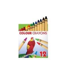 """Zsírkréta, ICO """"állatok"""", 12 különböző szín"""