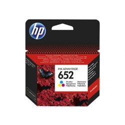 F6V24AE Tintapatron Deskjet Ink Advantage 1115 sor nyomtatókhoz, HP 652 színes, 200 oldal