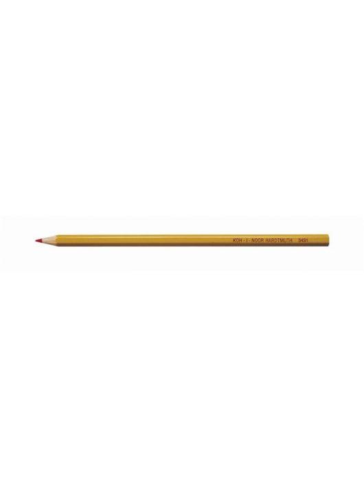 """Színes ceruza, KOH-I-NOOR """"3431"""", piros"""
