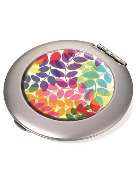 "Pipere tükör, fém, kerek, matt, TROIKA, ""Colourful leaves"""