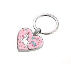 """Kulcstartó, érmével, fém, TROIKA """"Unicorn"""""""