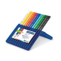 """Színes ceruza készlet, háromszögletű, vastag, STAEDTLER """"Ergo Soft Jumbo"""", 12 különböző szín"""