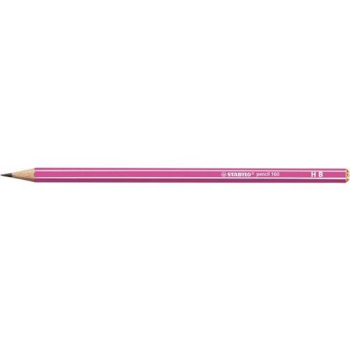 """Grafitceruza, HB, hatszögletű, STABILO """"Pencil 160"""", rózsaszín"""