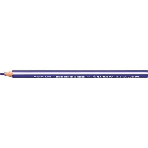 """Színes ceruza, háromszögletű, vastag, STABILO """"Trio"""", kék"""