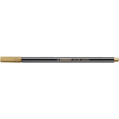 "Rostirón, 1,4 mm, STABILO ""Pen 68 metallic"", arany"