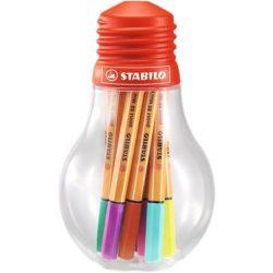"""Tűfilc készlet, 0,4 mm, STABILO """"Point 88 Mini Colorful Ideas"""" 12 különböző szín (TST6881206)"""