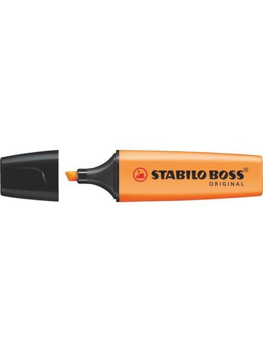"""Szövegkiemelő, 2-5 mm, STABILO """"Boss"""", narancssárga"""
