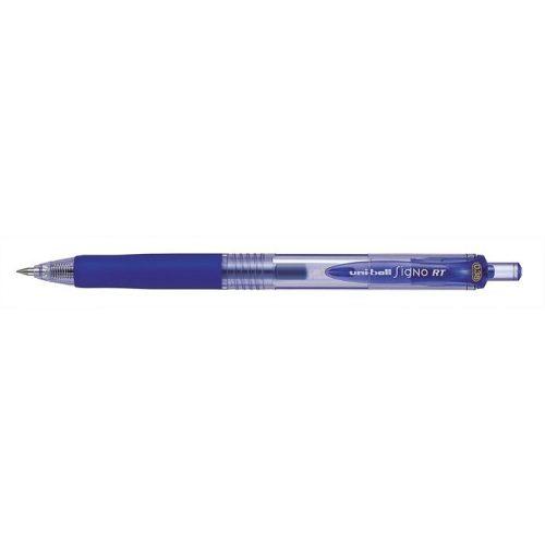 """Zseléstoll, 0,25 mm, nyomógombos, UNI """"UMN-138 Signo RT"""", kék"""