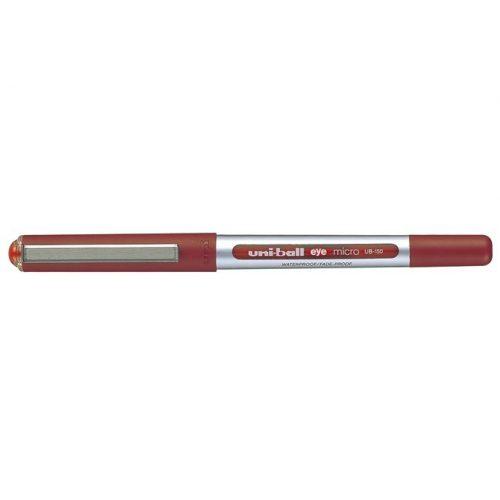 "Rollertoll, 0,3 mm, UNI ""UB-150 Eye Micro"", piros"