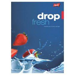"""Füzet, tűzött, A4, kockás, 96 lap, UNIPAP """"Fresh Fruit"""""""
