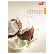 """Füzet, tűzött, A4, sima, 96 lap, UNIPAP """"Fresh Fruit"""""""
