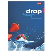 """Füzet, tűzött, A5, kockás, 96 lap, UNIPAP """"Fresh Fruit"""""""