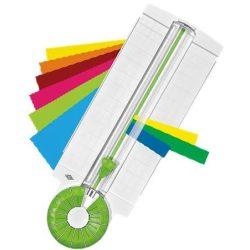 """Vágógép, kreatív, 12 az 1-ben, WEDO """" Comfort Line"""" zöld-fehér"""