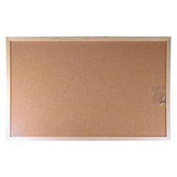 Parafatábla, kétoldalas, 40x60 cm, fa keret, VICTORIA (VVI19)