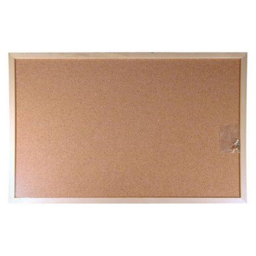 Parafatábla, kétoldalas, 60x90 cm, fa keret, VICTORIA (VVI35)