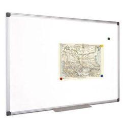Fehértábla, mágneses, 60x90 cm, alumínium keret, VICTORIA (VVIM02)
