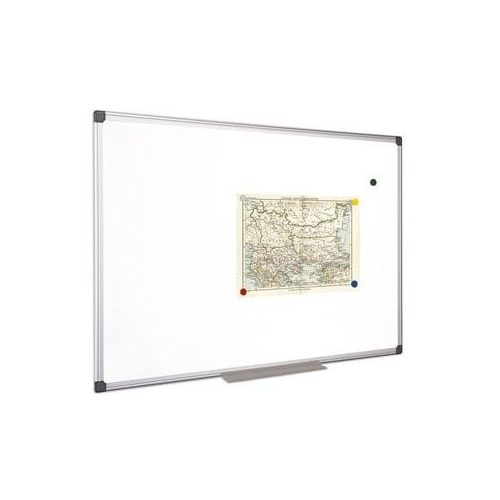 Fehértábla, mágneses, 100x150 cm, alumínium keret, VICTORIA (VVIM06)