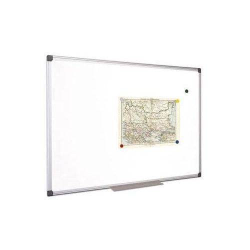 Fehértábla, mágneses, 100x200 cm, alumínium keret, VICTORIA (VVIM08)