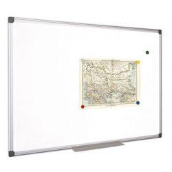 Fehértábla, mágneses, 120x240 cm, alumínium keret, VICTORIA (VVI