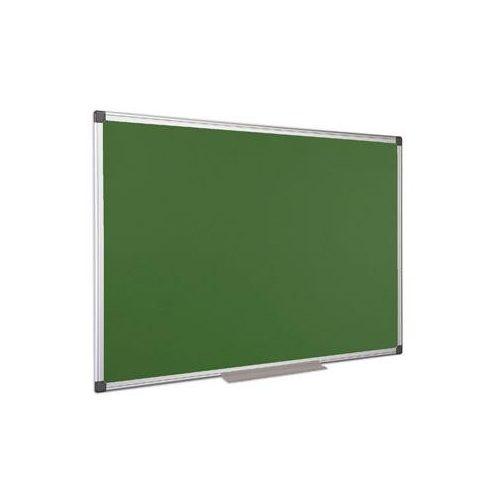Krétás tábla, zöld felület, nem mágneses, 90x120 cm, alumínium keret (VVK03)